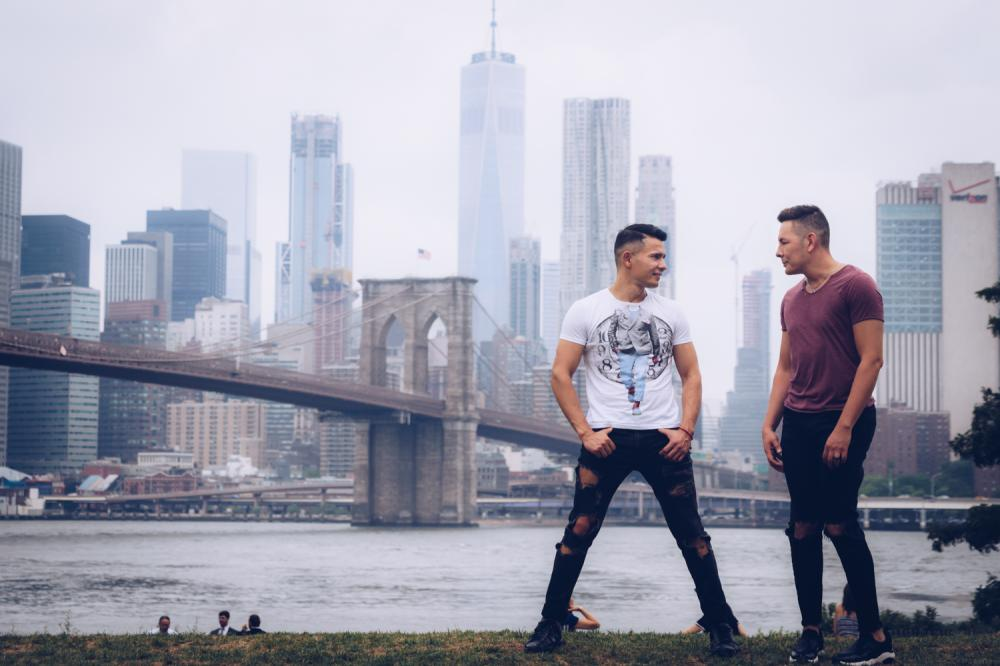 Gay couples photographer NYC