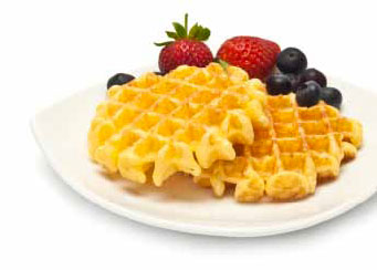 Crispy and Fluffy Belgian Waffles