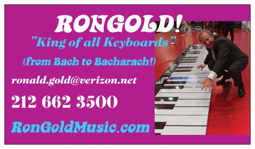 Ron Gold Music - Fine Piano