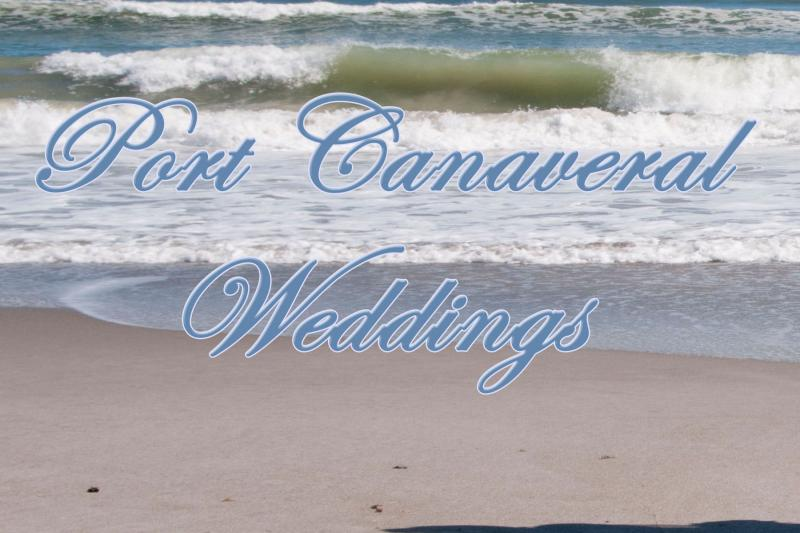 Port Canaveral Weddings