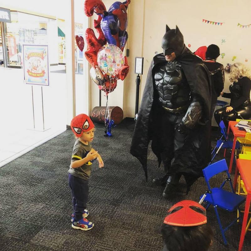 Batman made a little boy so happy
