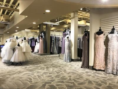 101240fa565 Hundreds and hundreds of wedding dresses Mothers