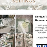 Rentals To Remember