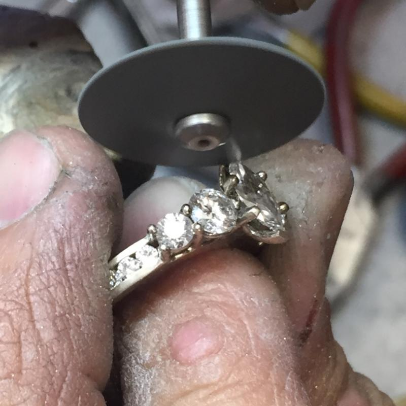 Repairing a ring for someones Spring Fling...