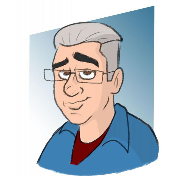 Digital Caricatures by Lou