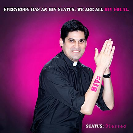 Everybody has an HIV status. We are all HIV=.