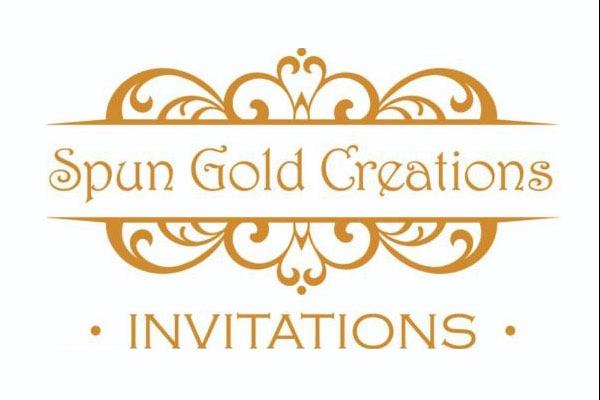 Spun Gold Creations Invitations