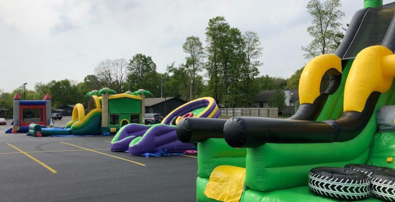 Variety Inflatables for any event