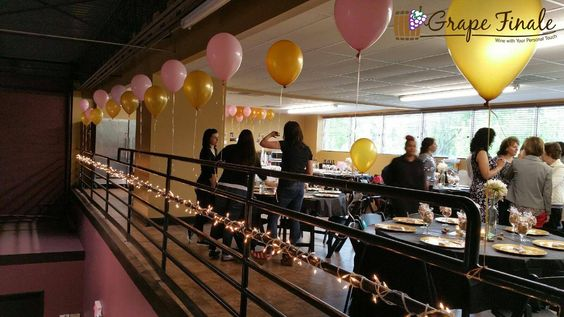 Our 1,250 sq. foot Mezzanine overlooks our main winery floor.  Both are included when you rent our venue.