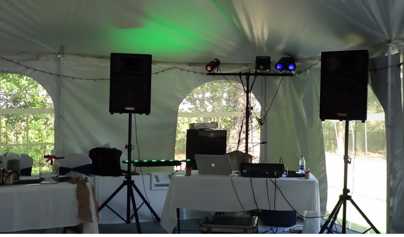 One of our sound systems