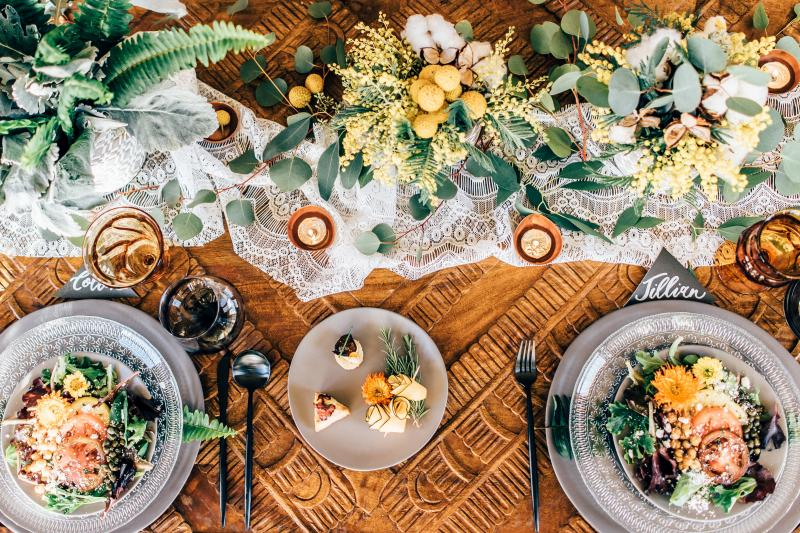 Table decor and centerpieces