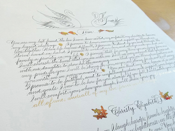 Calligraphy By Jessica Yee