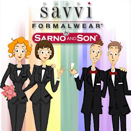 Savvi Formalwear by Sarno and Son