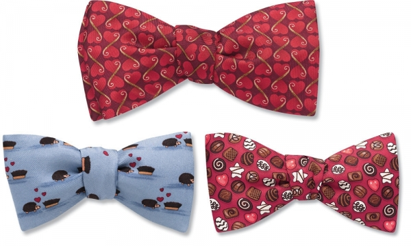 Valentine's Day Bow Ties!
