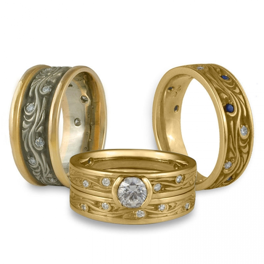Rings Made With Recycled Gold Fair Trade Gems And Canadian Diamonds From Weddingrings